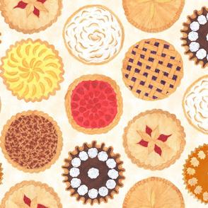 Tea Towel Version: Pies, Pies, Pies