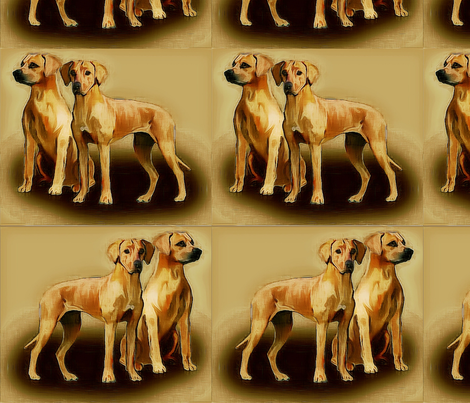 rhodesians2 fabric by dogdaze_ on Spoonflower - custom fabric