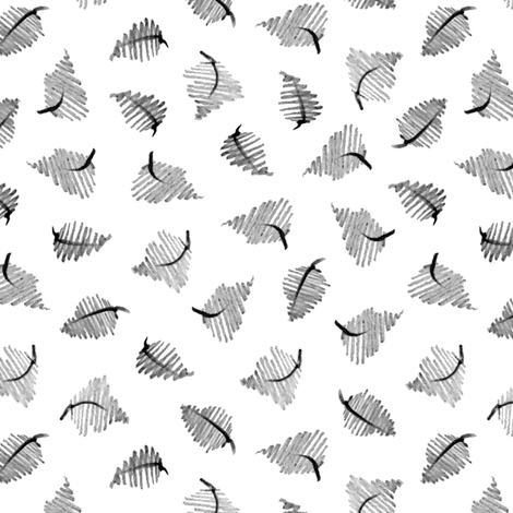 Rustic Fall - Graphite fabric by mariamsol on Spoonflower - custom fabric