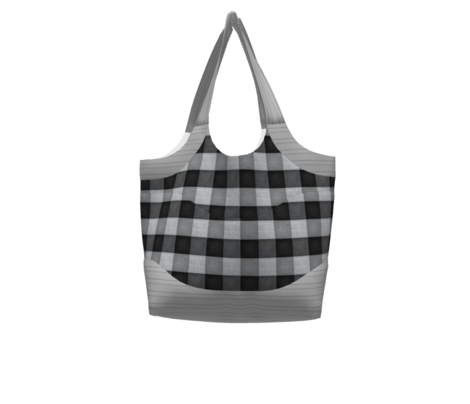 Ging? Um , ... Yes!!!    black/grey modern check