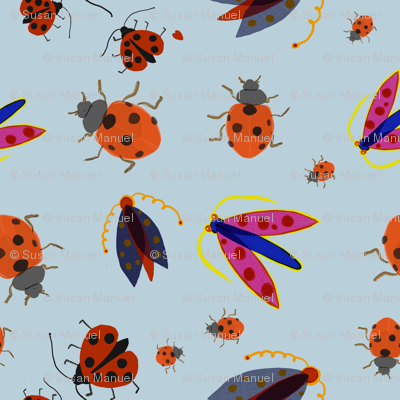 insects_Blue