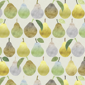 Pears in Tan