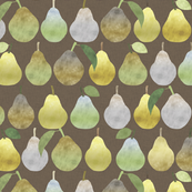 Pears in Brown
