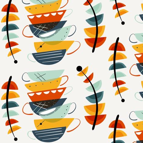 Autumn Java sewindigo fabric by sewindigo on Spoonflower - custom fabric
