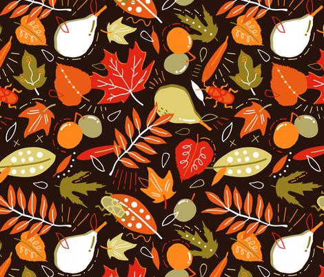 rustic_fall fabric by boyusya on Spoonflower - custom fabric