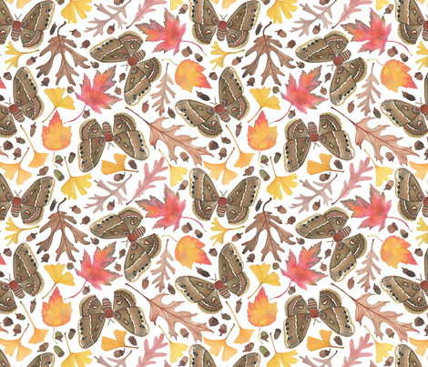 A Walk in the Woods fabric by mygiantstrawberry on Spoonflower - custom fabric