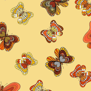 Autumn Butterflies