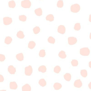 painted dots nursery baby fabric
