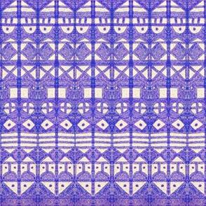 Tribal Stripes XL Blue