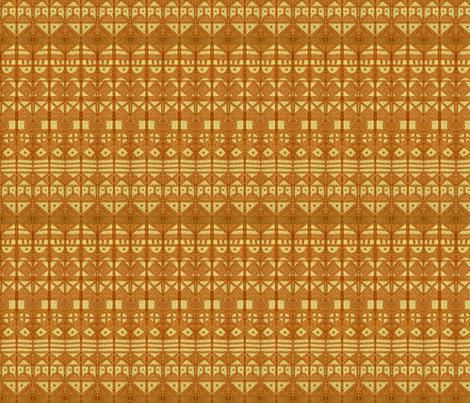 Tribal Stripes XL Gold fabric by engravogirl on Spoonflower - custom fabric