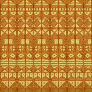 Tribal Stripes XL Gold