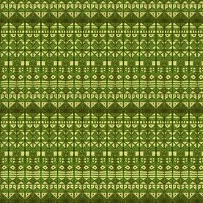 Tribal Stripe XL Green