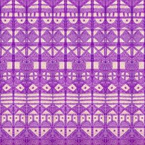 Tribal Stripe XL Purple