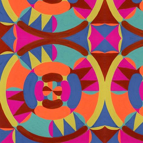 Mandala 8 fabric by garren on Spoonflower - custom fabric