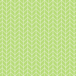 lime chevron fabric