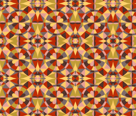 Autumn Abstraction fabric by garren on Spoonflower - custom fabric