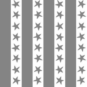 stars and stripes fabric // grey nursery circus design star and stripes design