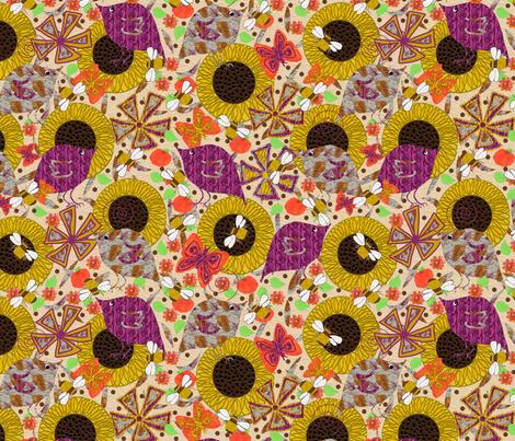 My Favorite Season fabric by anniedeb on Spoonflower - custom fabric