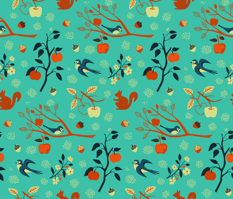 The George Farm fabric by chris_jorge on Spoonflower - custom fabric