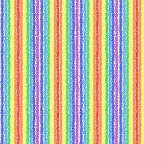 Crayon Rainbow Stripes
