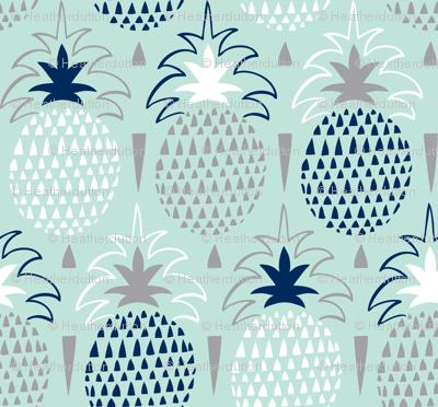 Fresh Picked - Summer Pineapple Geometric Mint