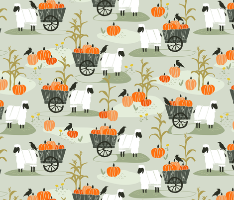 Harvest fabric by lburleighdesigns on Spoonflower - custom fabric