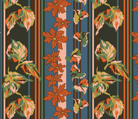 AutumnFalling fabric by choffman on Spoonflower - custom fabric