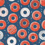 Fishman Donuts Bakers Dozen Donuts - Red Circles Donut