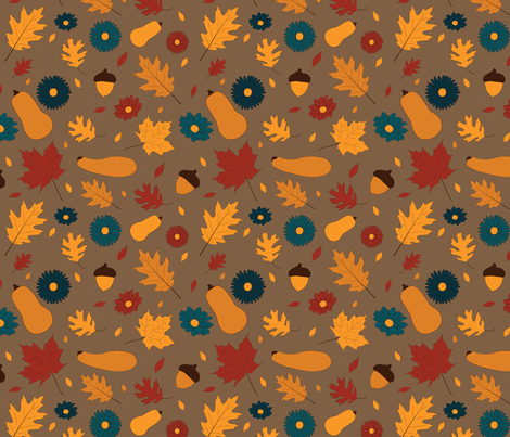 Autumn  fabric by svaeth on Spoonflower - custom fabric