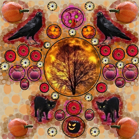 Arizona Fall- Sort of fabric by feralartist on Spoonflower - custom fabric