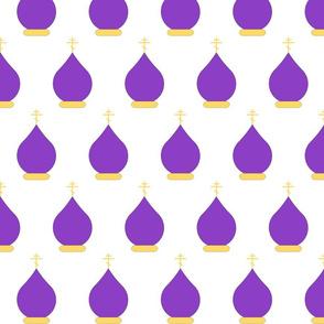 Domes in Purple