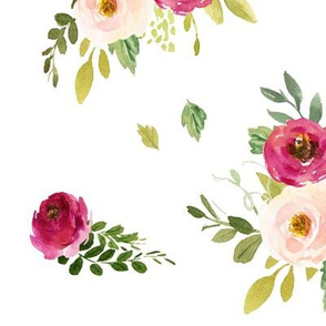 Spring Peony Blooms // Large Scale