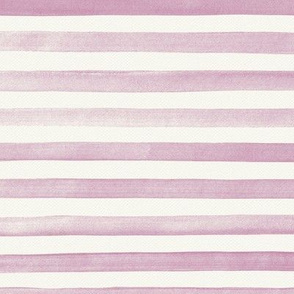 Lavender Watercolor Stripes
