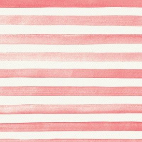 Pink Ombre Watercolor Stripes
