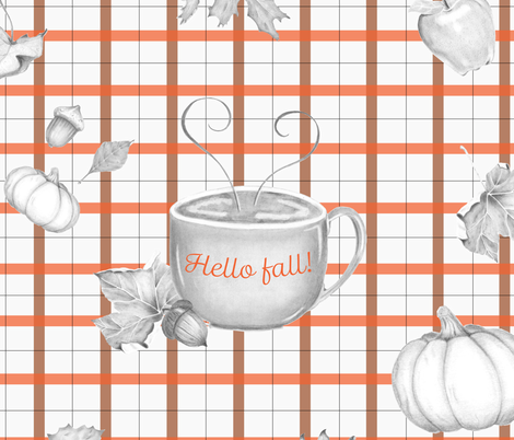 fall_design fabric by drawingnear on Spoonflower - custom fabric