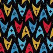 Insignia Pins in Space