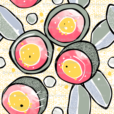 Gumnuts Australian flowers // flora floral eucalyptus waratah aussie pretty natural pattern texture