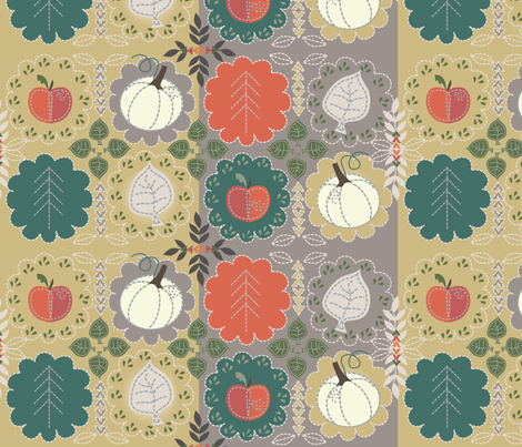 RusticFall_byTresa fabric by clarkyworks on Spoonflower - custom fabric