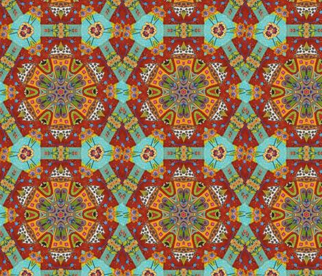 Kilim Rug fabric by floramoon on Spoonflower - custom fabric