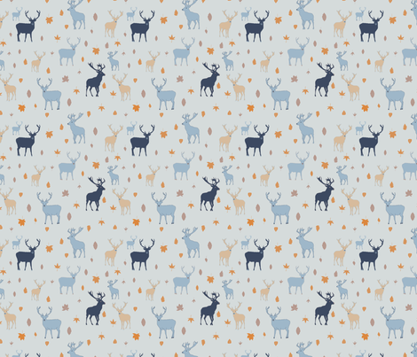 RusticFall fabric by mirabellemakery on Spoonflower - custom fabric