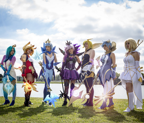 Elementalist Lux Ice Suit Hip Pieces And Gloves Fabric Morgawse