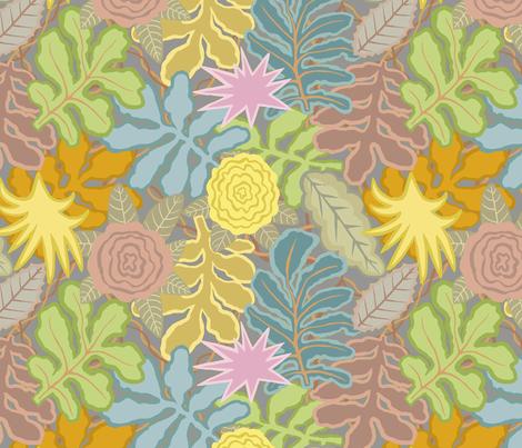 Autumn_Leaves fabric by nadinewestcott on Spoonflower - custom fabric
