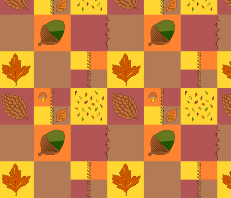 rusticfall fabric by created_bychloe on Spoonflower - custom fabric