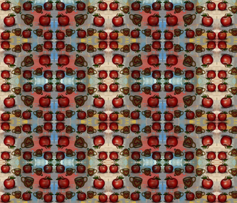 Apples Galore fabric by bent_line_designs on Spoonflower - custom fabric