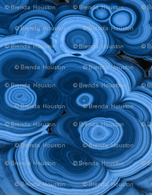 Blue Outswirl
