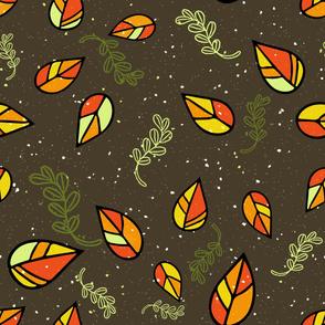 Rustic Leaves II