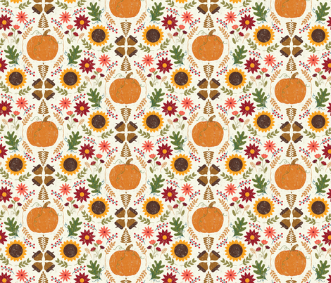 RUSTIC_FALL_3-01 fabric by tracylucydesigns on Spoonflower - custom fabric