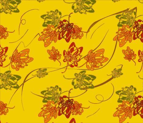 flying, floating, falling fabric by alohajean on Spoonflower - custom fabric