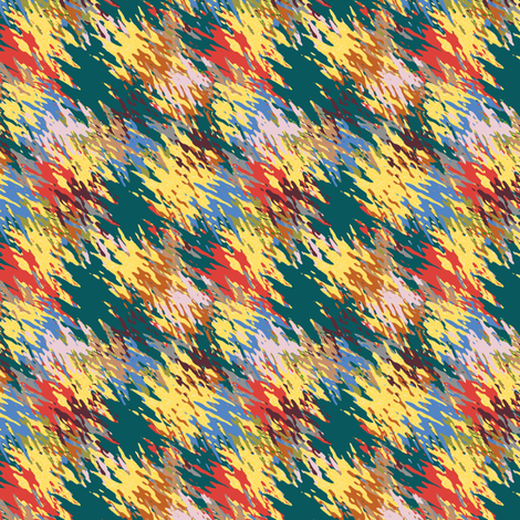 Strokes of Rustic fall fabric by anino on Spoonflower - custom fabric