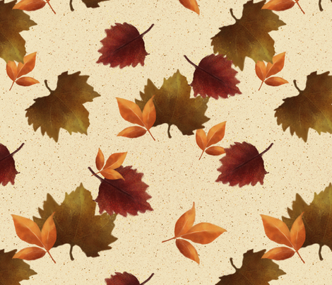 Falling for Fall fabric by criscj on Spoonflower - custom fabric